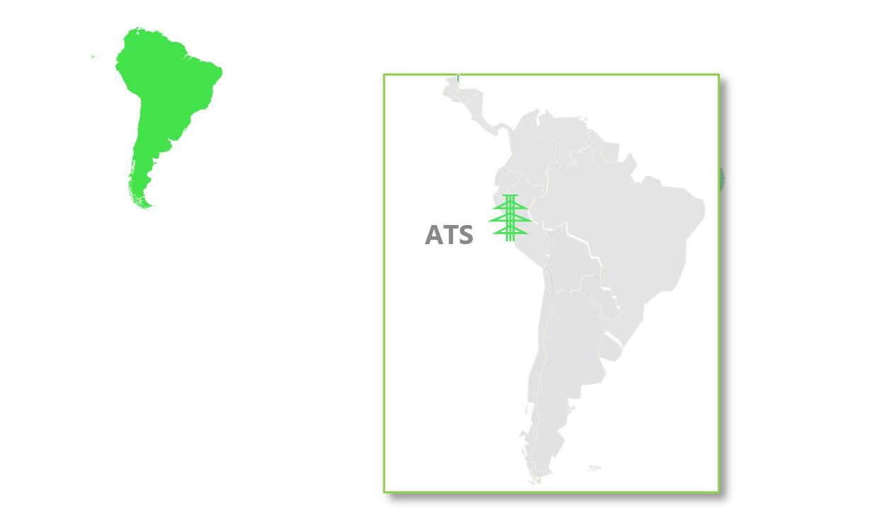 ATS is located in Peru