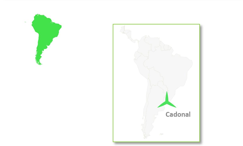 Cadonal is located in Uruguay