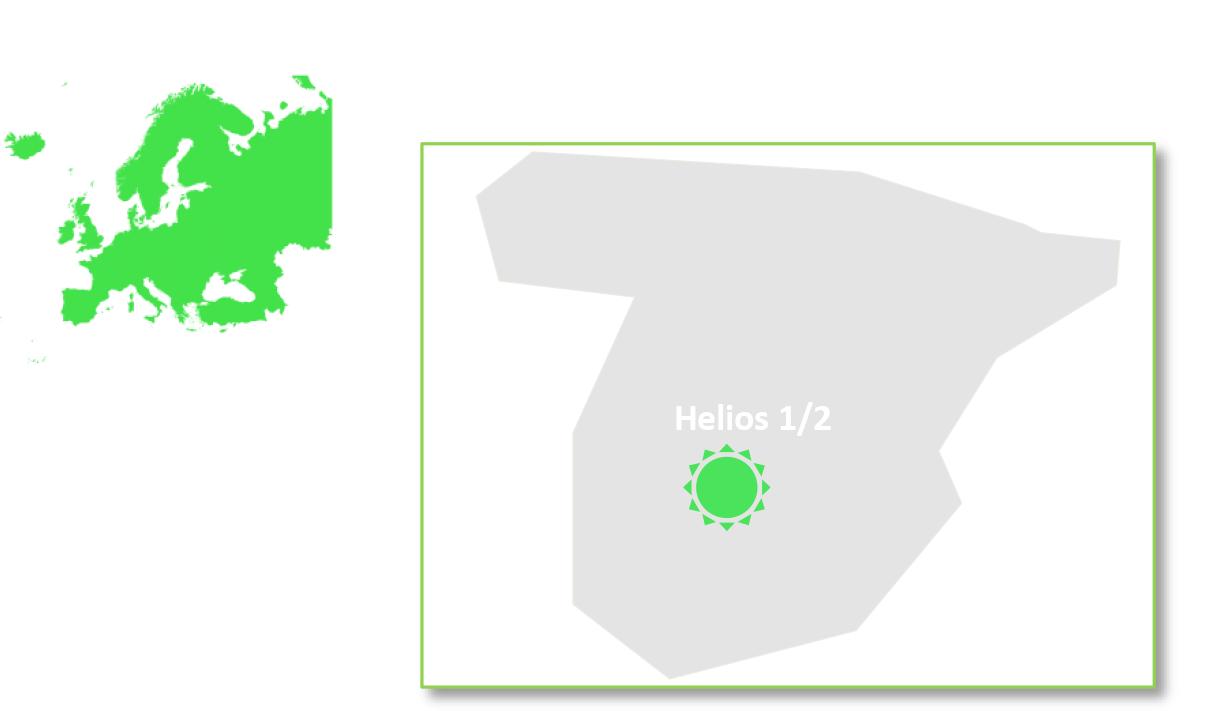 Helios 1/2 is located in Spain