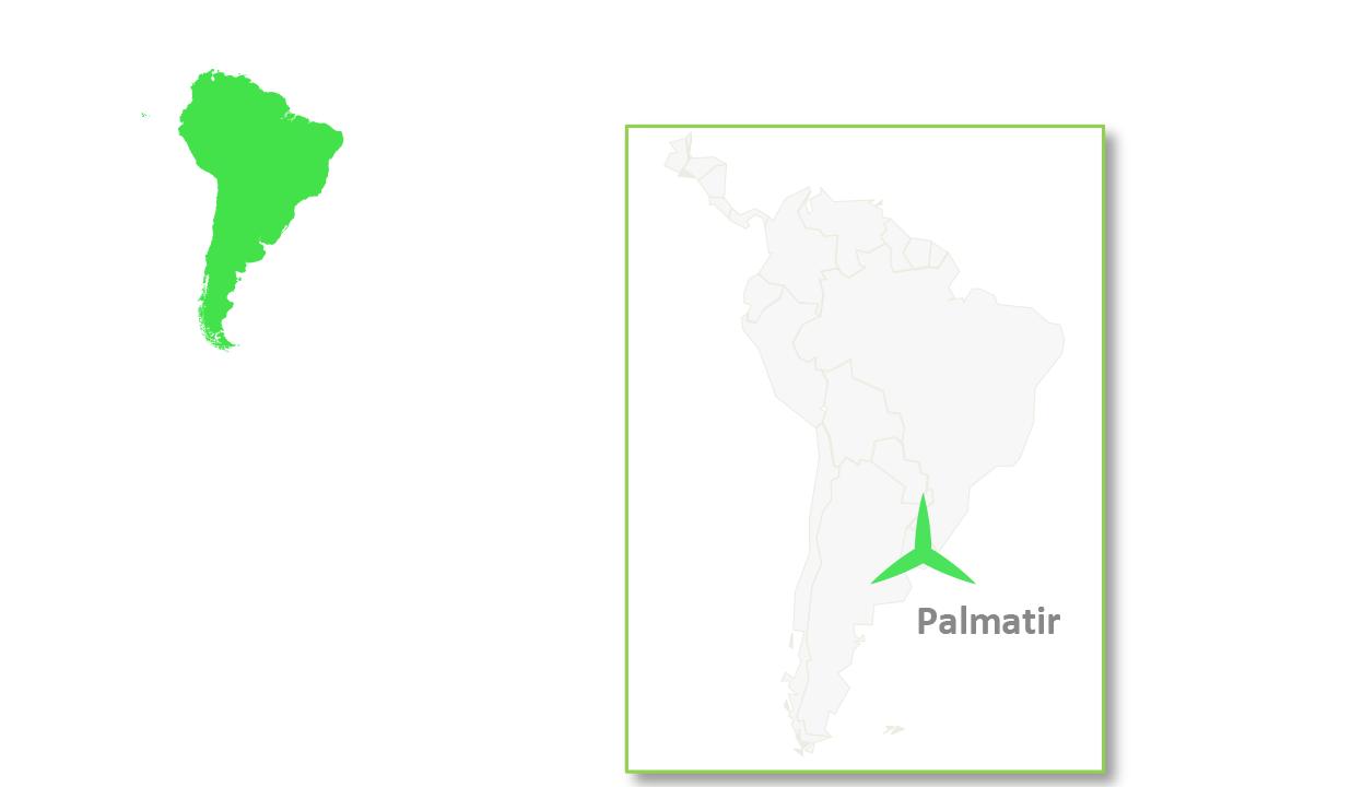 Palmatir is located in Uruguay